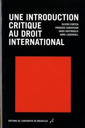 Une introduction critique au droit international