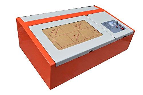 USB Laser Grabado Eléctrica 40W CO2Laser Graveur
