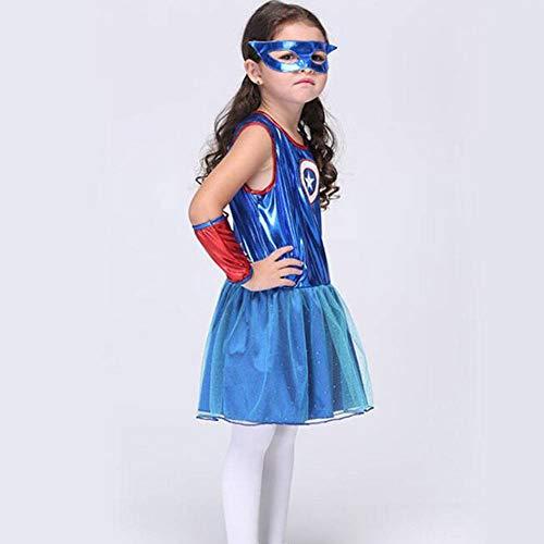 Kostüm Superman Böse - QWE Halloween Kostüme Cosplay Kostüm Superman spielt Mädchen üben Tanzkleidung