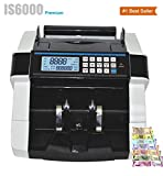 KROSS - IS6000 Heavy Duty Currency Counting Machine with Fake Note Detection/Cash Counting