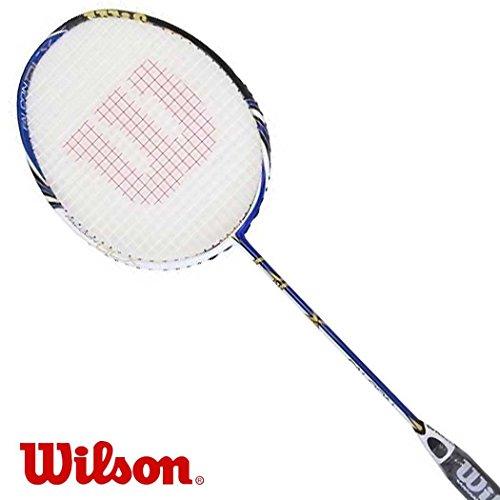 Wilson FALCON BLX Badmintonschlaeger besaitet - inkl. Kopfhuelle