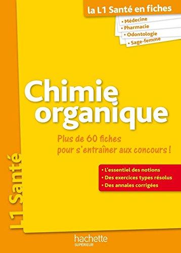 PAES en fiches, Chimie organique (La PAES en Fiches)