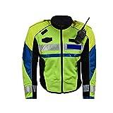 JESSIEKERVIN YY3 Reflektierende Jacke/Sicherheitsjacke Fluoreszierende Jacke Einzigartige High Visibility/Arbeit/Witze Fahrrad Traffic Guard Nacht Sicherheit Fluoreszierende Reflexion