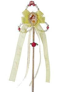 Princesas Disney - Varita de Bella, color amarillo, Talla única (Rubie
