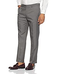 Wills Lifestyle Men's Slim Fit Formal Trousers