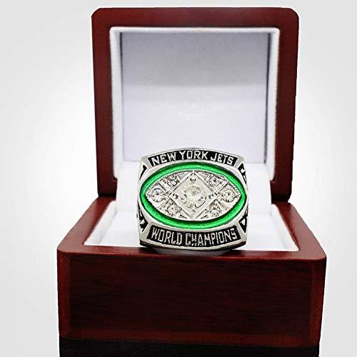 MTX Ltd Sport Fans Collection Champion Ringe Fans Männer Memorial Ringe High-End-Kollektionen Fans Legierung Ringe Herren Accessoires Vintage-Zubehör, Silber, 11