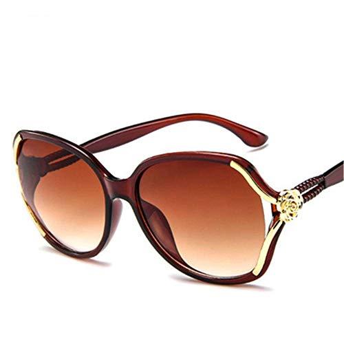 CUYAG Sonnenbrillen Damen-Sonnenbrillen Brand Design Sonnenbrillen Ms. Men's Universal Explosion Sonnenbrillen Mode Sonnenbrillen Uv400 D -