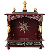 MVEE Wooden Temple/Pooja Mandir/Mandapam/Temple for Home