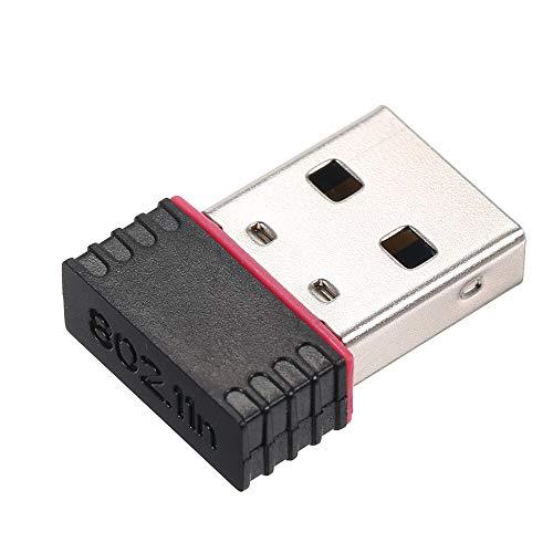Docooler Adaptateur réseau sans Fil Mini USB WiFi WLAN 150Mbps dongle EF