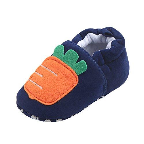 cf455ecff SamMoSon Zapatos Bebe Recien Nacido ni a Invierno con Suela Zapatos para  Beb s Encantadores para