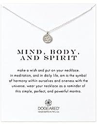 Dogeared Damen-Halskette 45,72cm, Mind, Body, Spirit