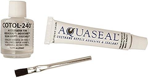 McNett Aquaseal Urethan Repair Kleb-und Dichtstoff Rohr mit Cotol (3/4-Ounce, 240 1/2 fl Unze)