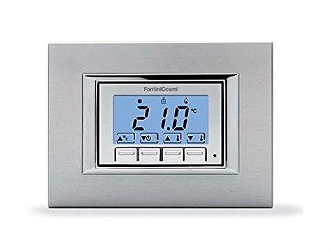 Fantini Cosmi Ch121Scie rétroéclairé Thermostat à encastrer Batteries