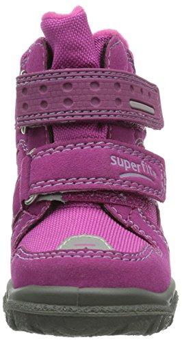 Superfit 30004473 HUSKY1 Mädchen Warm gefütterte Schneestiefel Violett (DAHLIA 73)
