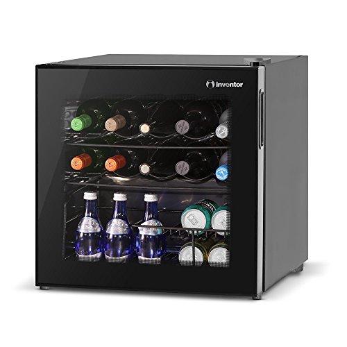 Inventor Vino Weinkühlschrank 49L, bis zu 10 Weinflaschen, Temperatureinstellbereich 2-21 °C