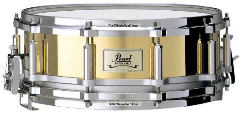 PEARL FREE FLOATING BRASS 14 X 5 - FB1450C Snare Drums Stahl Kessel (5x14 Snare Drum)