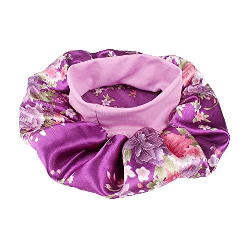 Healifty Sombrero Dormir Flor Banda Ancha Mujeres