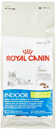 ROYAL CANIN Katzenfutter Indoor Appetite Control 2 kg, 1er Pack (1 x - Royal Control Canin Sterilised Appetite