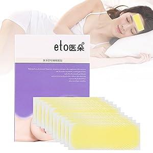 10 Unids/caja Antiarrugas Anti Frente Líneas Skin Hidratante Reparación Pad Etiqueta