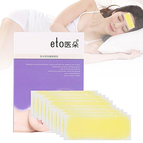 10 STÜCKE / Box Anti-falten Anti Stirnfaltenhaut Feuchtigkeitsspendende Reparatur Aufkleber Pad -