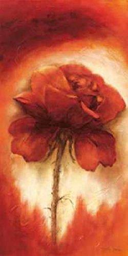 Betty Jansma – Roses II Kunstdruck (25,40 x 50,80 cm) (Jansma Betty Roses)