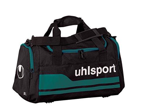 uhlsport Basic Line Sporttasche, Schwarz/Lagune, S, 100424205