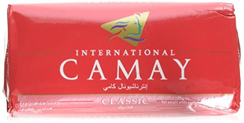 Camay International Classic Soap, 125g - Pack of 3