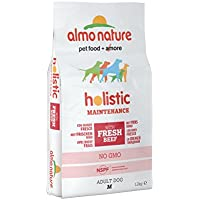 Almo Nature -Holistic dog adult medium mangime secco gusto manzo e riso kg.12