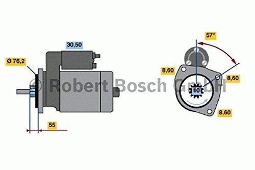 Bosch 0 986 016 340 Démarreur