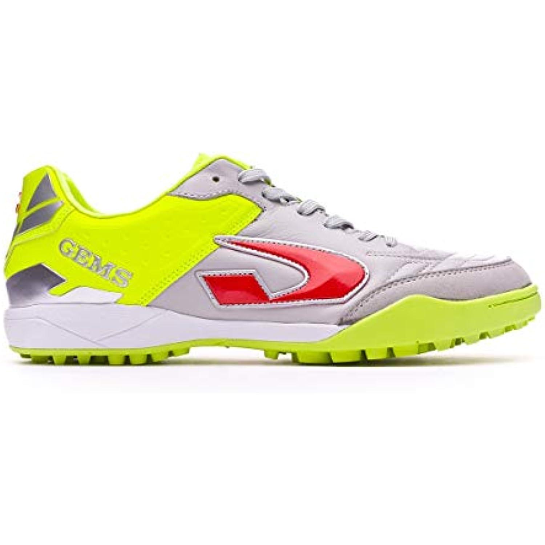 GEMS Chaussures pour pour pour Homme spécial Foot en Salle Multicolore Grigio Giallo - B07CGF8HLK - da9aae