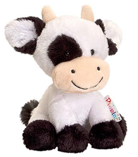 Keel Toys -, 14 cm, Pippins Felpa de la Serie en Forma de Vaca-