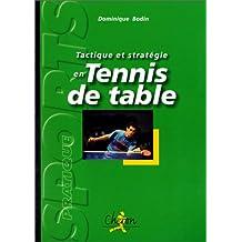 Tactique et stratégie en tennis de table