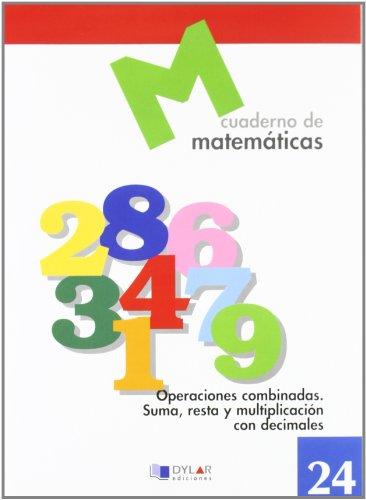 MATEMATICAS 24 - Operaciones combinadas. Suma, resta y multiplicación con decimales por Proyecto Educativo Faro