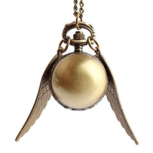 olden Snitch Taschenuhr Halskette, für Frauen (Hunger Games Dekorationen)