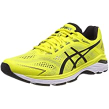 running asics amarillas