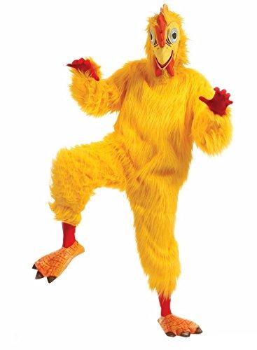 Maskottchen Huhn Kostüm Erwachsene tragbar Manone Füße und - Huhn Maskottchen Kostüm