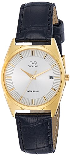 Q&Q Analog White Dial Men's Watch - S116-101NY image