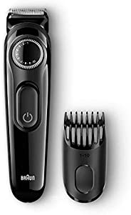 Braun BT3020 Beard Trimmer for Men (Black)