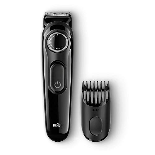Braun Beard Trimmer BT3020 Black - Cordless Hair / Beard Trimmer for Men, Hair Clipper