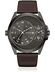 Guess Herren-Armbanduhr Analog Quarz Leder W0505G4