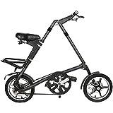 Tradico Folding Bike Mini Bicycle 16inch Wheel Smallest Aluminum Alloy Frame