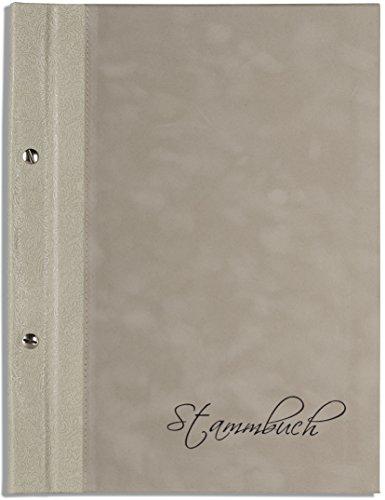 ch der Familie Koza creme Leder Hochzeit incl. 11 Stammbuchhüllen ()