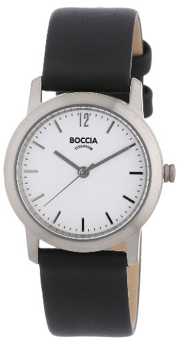 Boccia Women's Quartz Watch 3170-03 with Leather Strap