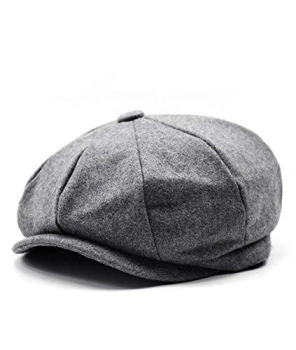 e94555d29e Men's Vintage Newsboy Herringbone Cap British Style Hat Winter Hat (20  Designs) (20