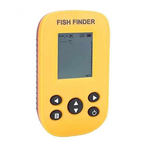 Nianzhiqianღ Angelfinder, kabellos, Sonar Fischfinder, tragbare Fischerkennung mit Display