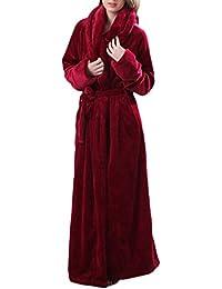 60ae2e08d0ab00 Frauen Frühling 2018 Flanell Cosy Warm Home Bademantel Badeanzug  Schlafanzug Hosen Bademantel Schlafanzug Extra Lange