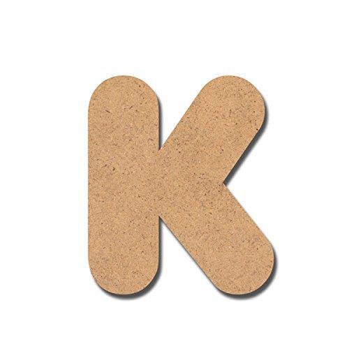 Canevas pour enfant Loisirs créatifs - Lettre en bois 7 cm K