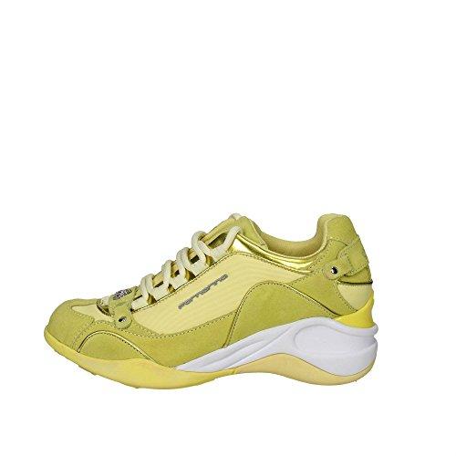 Fornarina PEFSE6432WVA4800 Sneakers Damen Gelb