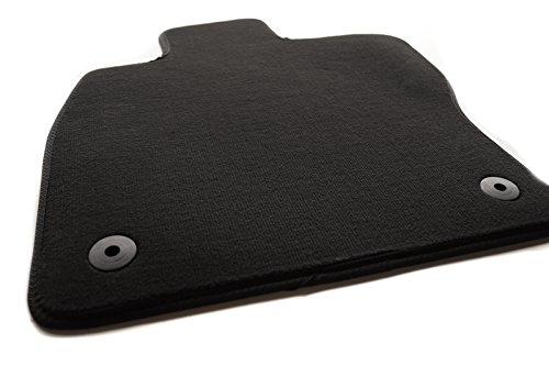 Fußmatte Seat Leon III (5F/alle) Original Qualität Velours Automatte Fahrerseite - schwarz