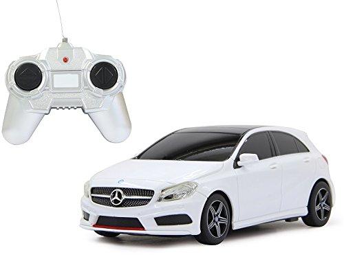 BUSDUGA 2391 RC Mercedes-Benz A-Klasse, weiß Maßstab: 1:24 - ferngesteuert, - RTR - LIZENZ-NACHBAU (Mini Lego Cars)